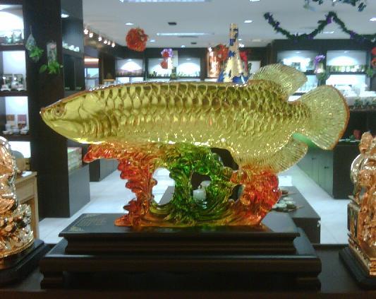 Feng shui fish tank in bedroom