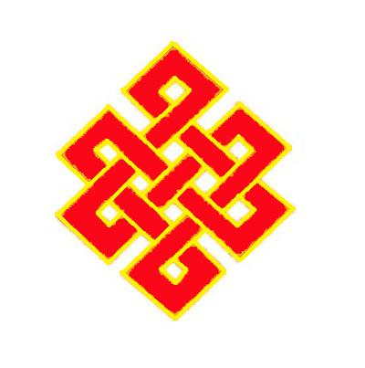 Feng shui mystic knot symbol and meaning lucky or - Feng shui chinese symbols ...