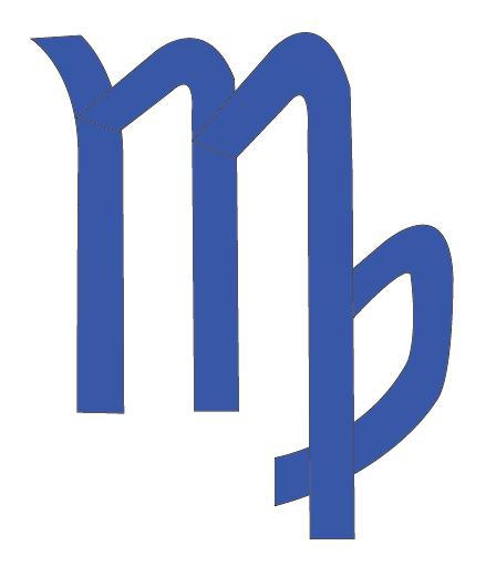 Virgo Zodiac Symbol Sign